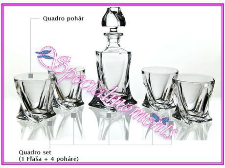 Whisky Quadro Set,
