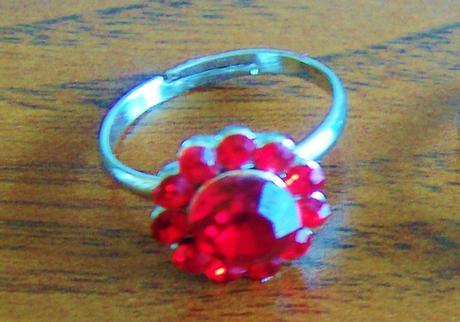 Elegantné štrasové prstene,3ks,