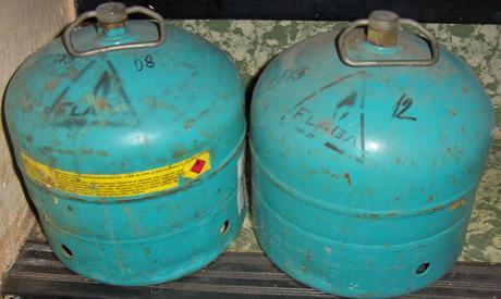 Plynové PB fľaše,2kg ,