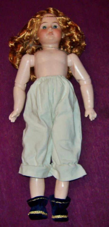 Porcelánová bábika,rok 1894,