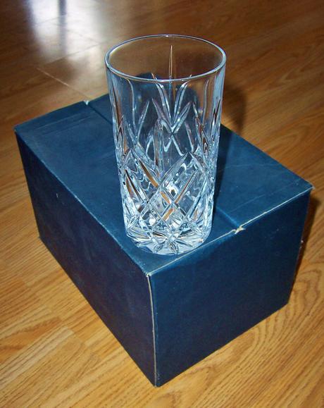 Sada pohárov,brúsené sklo,