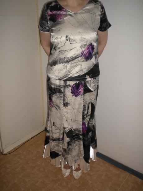 Suknovy kostym(nielen pre svadobne mamy), 46