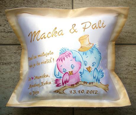 darček pre novomanželov,