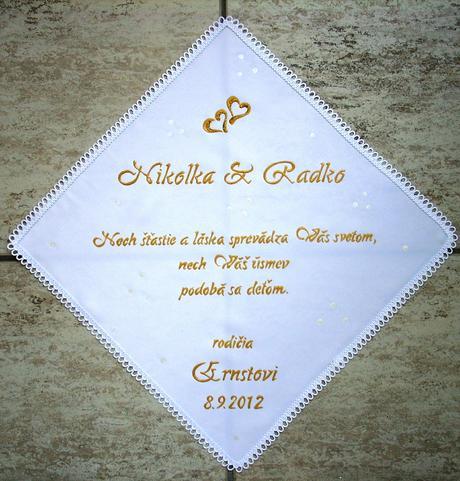 ...pre novomanželov,