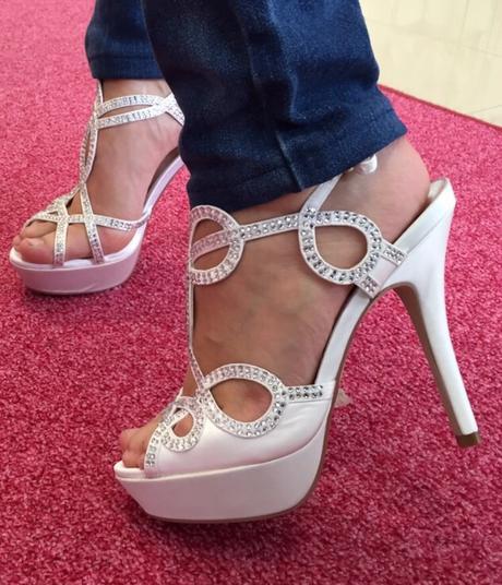 Svadobne sandalky, 36