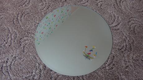 okrúhle zrkadlá,
