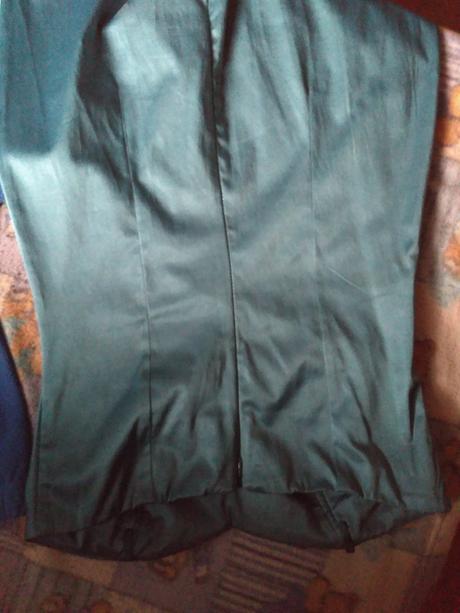 Modre šaty-M, 38