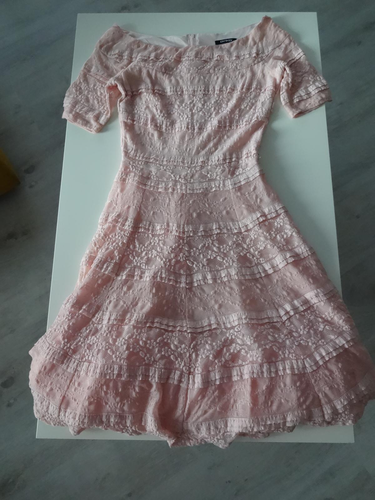 Krajkované šaty s krátkým rukávem orsay bac464e19a
