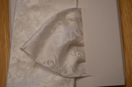 Svadobna kravata Ivory,