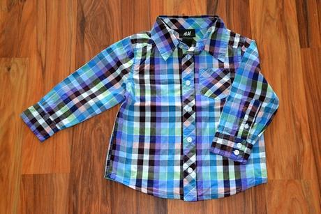 Košile s dlouhým rukávem H&M, 86