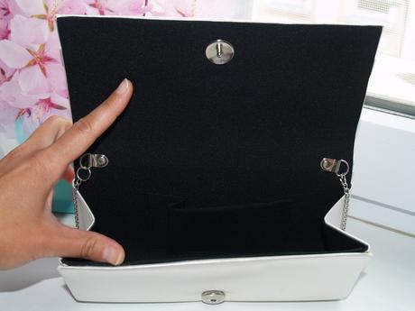Svatební kabelka s mašličkou - Ivory,