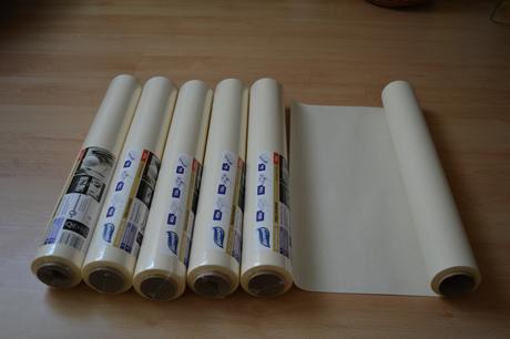 Papírová štola 12 m ,