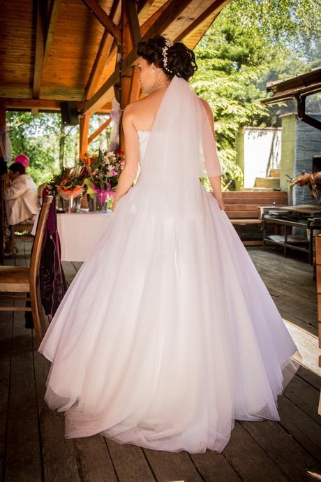 svatební šaty vel 34-36, 36