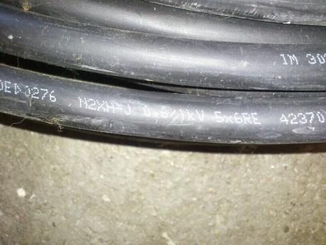 Kábel 5x6,