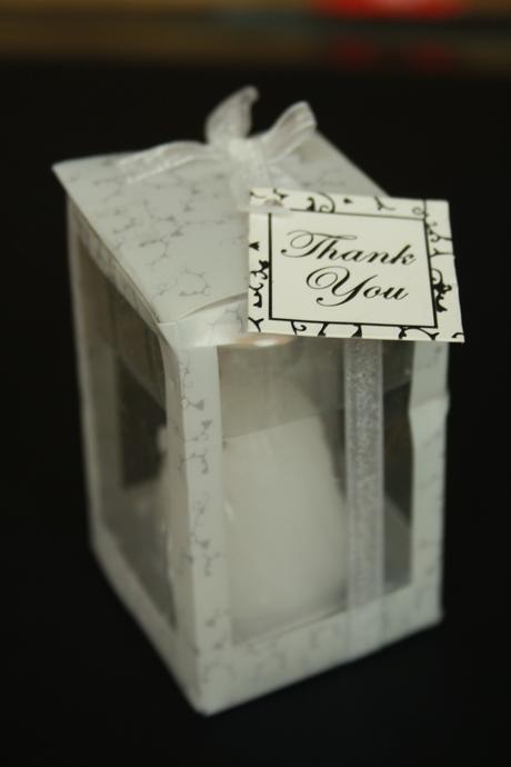 Svíčky ve tvaru svatebních šatů - 10ks,