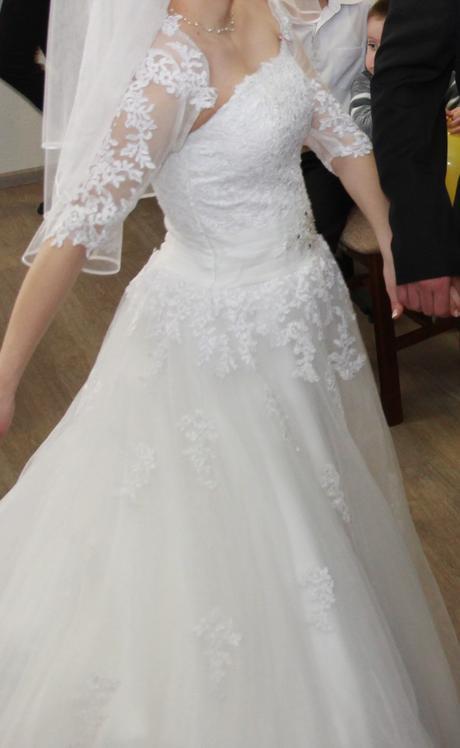 Svadobné šaty č. 36-38, 36