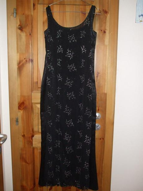 saténové šaty 2 v 1 č. 38, 38