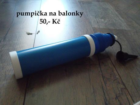 Pumpička na balonky,