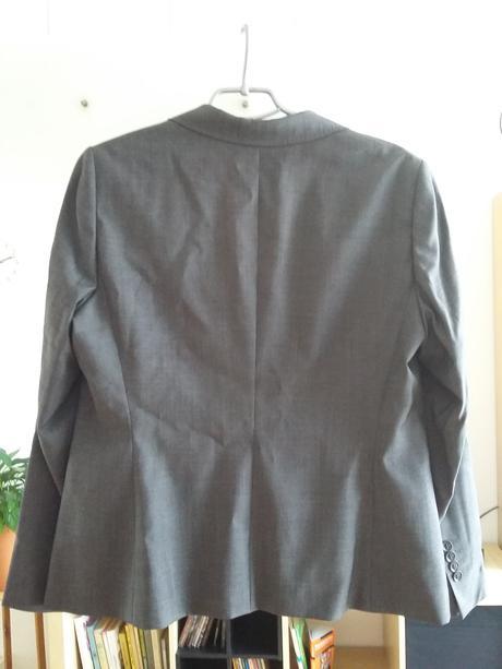 Luxusní sáčko tmavě šedé barvy, 46