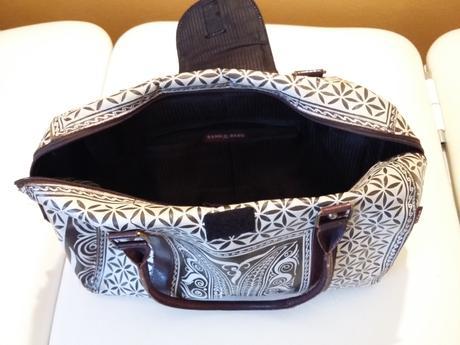Originální kabelka do ruky z kozí kůže, L