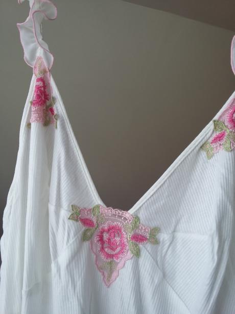 Svatební krátká noční košilka, 46