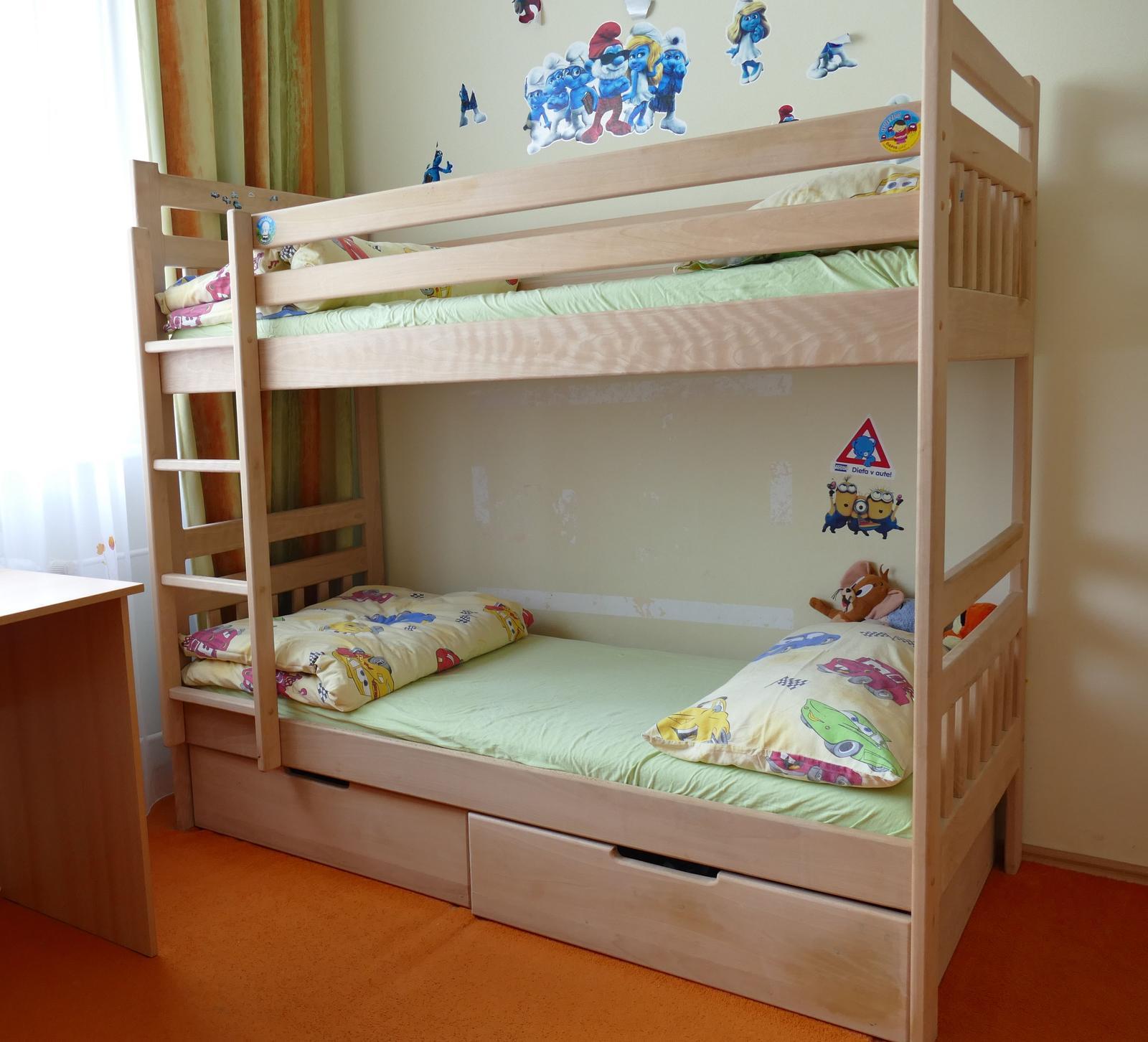 912f874f2915 Poschodová posteľ z masívu