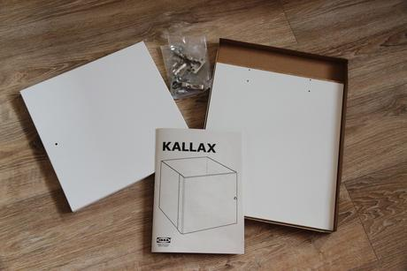 Nepoužívaná vložka s dvierkami Kallax/Expedit,
