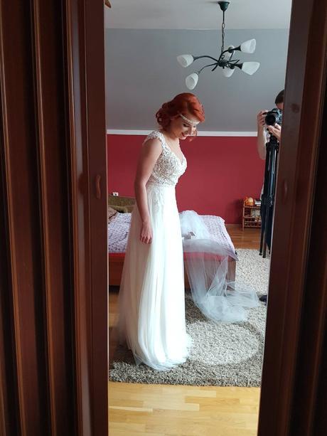 Nádherné svadobné šaty , 36