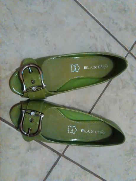 zelene topanky, 36