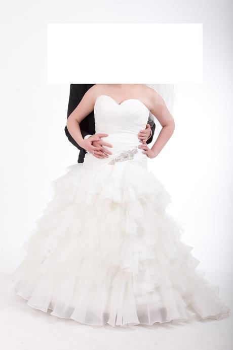 Svatební šaty 38 - 40, 42