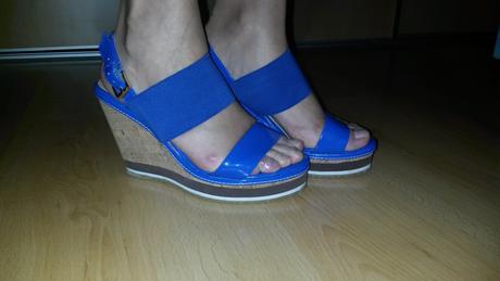námornícke sandále na platforme, 37