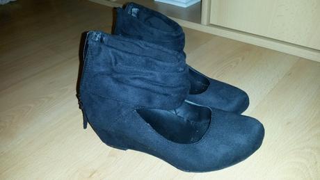semišové topánky, 36
