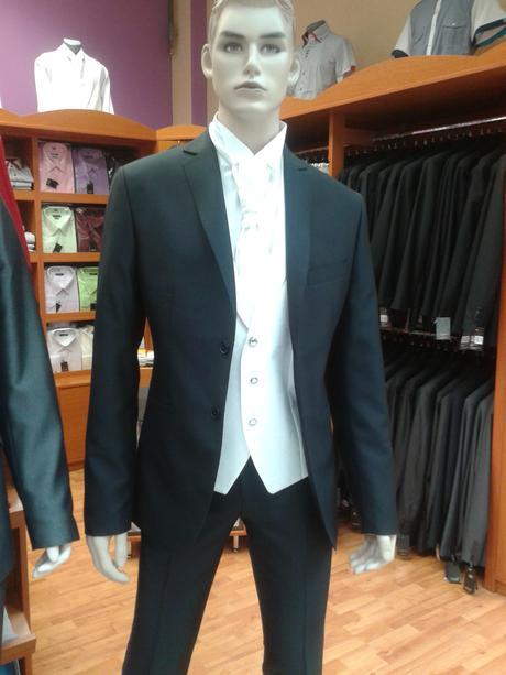 Svadobný oblek- slim, 56