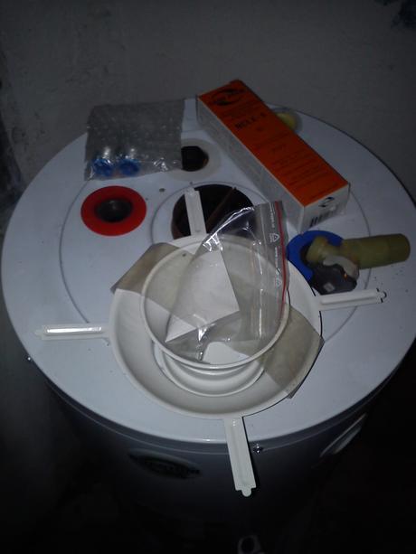 Plynový ohrievač vody Q7-20-NORS-nepoužitý,
