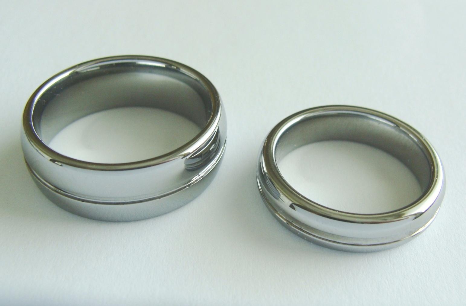Snubni Prsteny Z Wolframu 800 Kc Svatebni Bazar Beremese Cz