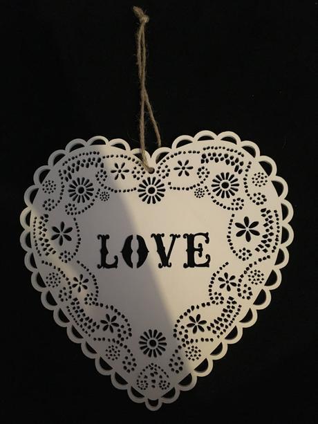Srdce vyřezávané - dřevo,