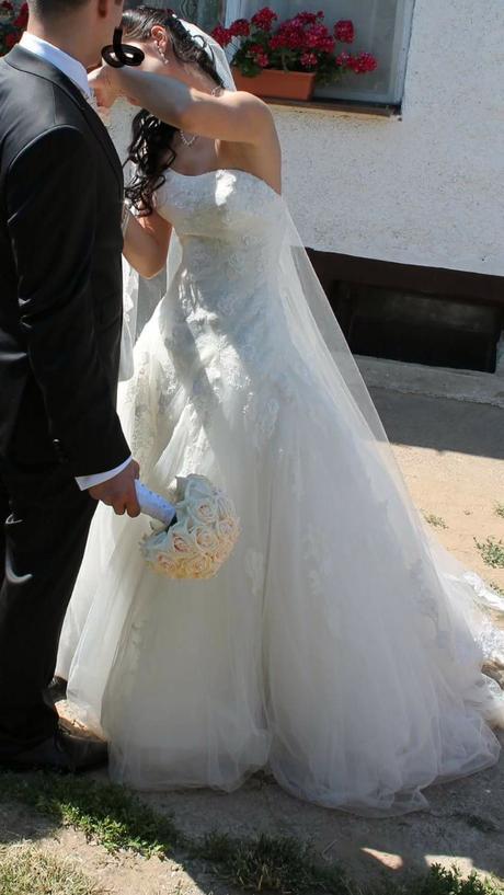 Svadobné šaty Pronovias Barroco 36, 36