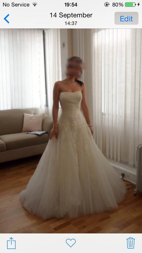 Svadobné šaty Pronovias Barroco 36-38, 36