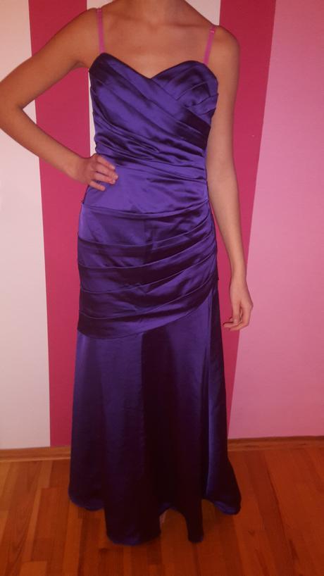 lFialové šaty, 38