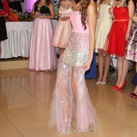 Luxusné spoločenské šaty 36-38, 36