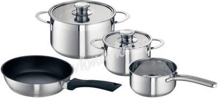 4dílná sada nádobí na indukci HEZ390042,