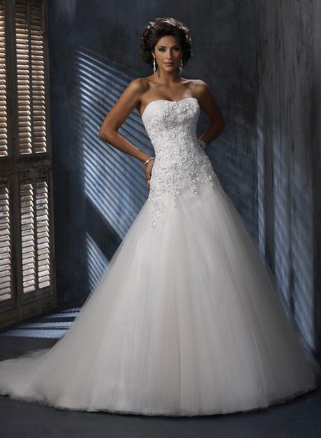 Svatební šaty NORA - PRODÁNO, 34