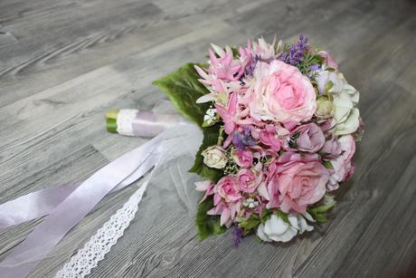 Kvetovaná čelenka - súprava,