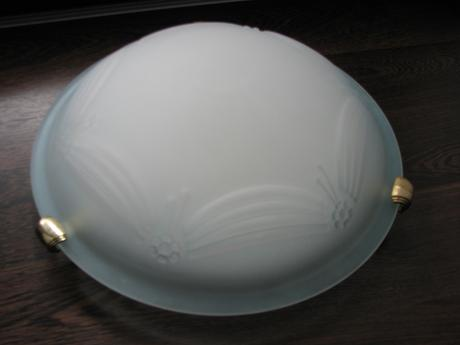 jemné svietidlo na 1 žiarovku E27, priemer 30cm,