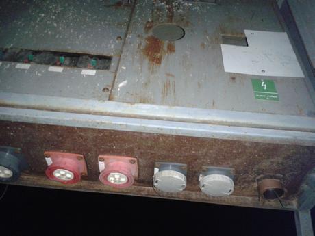 Stavebný elektrický rozvádzač - antoníček,