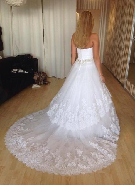 Svadobné šaty - Blue by Enzoani Dalby + závoj, 36