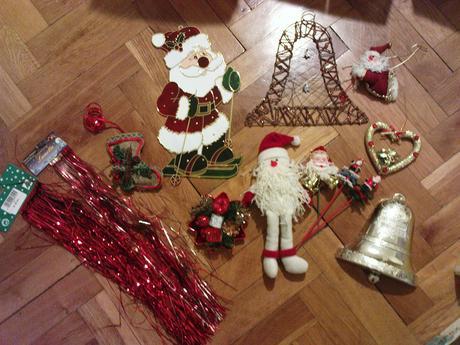 vianočné ozdoby ,