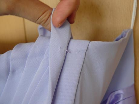 Levandulkové šifónové dlhé šaty, 40