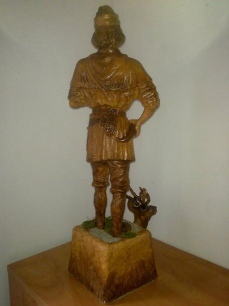 soška sv. Hubert - patrón poľovníkov,