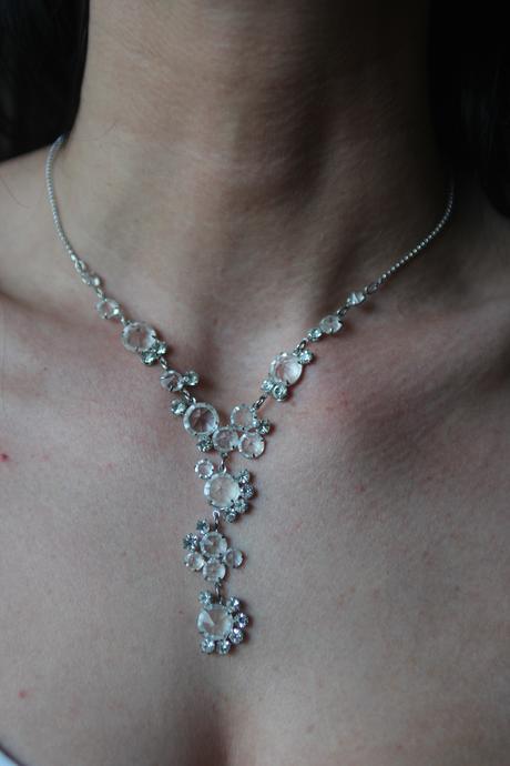 Komplet náhrdelník + náušnice,